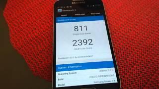 Samsung Galaxy S4 Geekbench 3 test