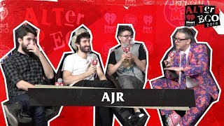 AJR Backstage at ALTer Ego with DC101's Mike Jones