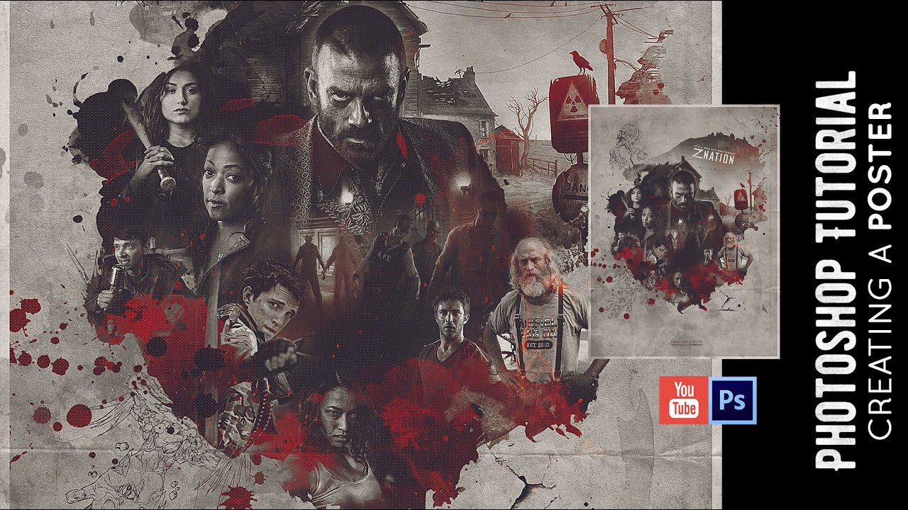 Top Z Nation' Poster | Photoshop | Speed Art - YouTube HB83