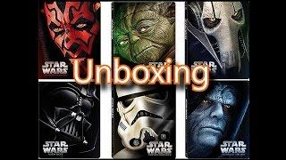 Star Wars Episodes 1-6 Steelbook Blu-Ray Unboxing