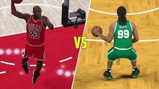 CAN MICHAEL JORDAN BEAT A TEAM OF 99 OVERALL PLAYERS? NBA 2K17 GAMEPLAY!