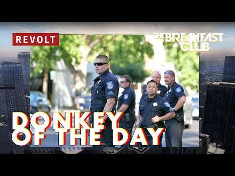 Sacramento Police Department | Donkey of the Day