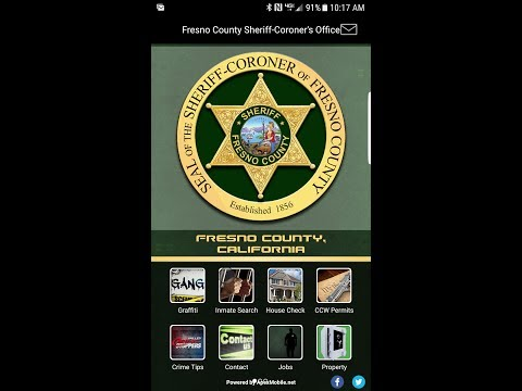 Fresno County Sheriff's Office Launches Mobile App
