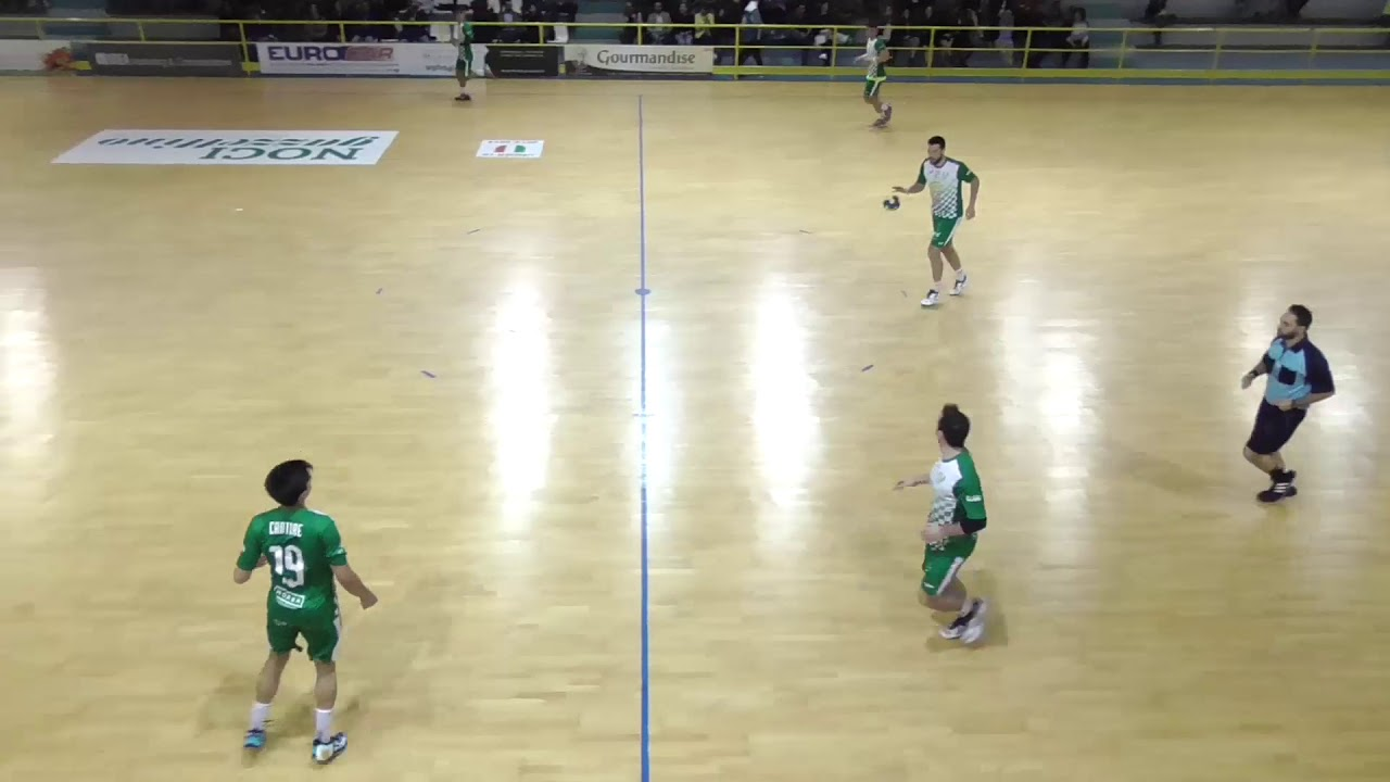 Serie A1M [Play-Out T1R]: Noci - Tavarnelle 29-29