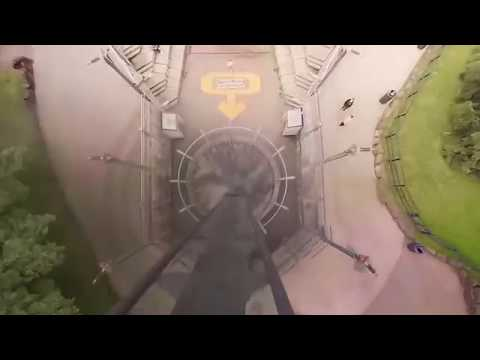 VR180 3D extreme Roller Coaster experience - Don´t look down OBLIVION Alton Towers VR POV