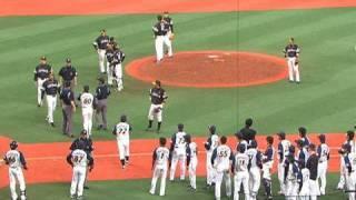 荒れる京セラドーム、また乱闘か?! 5月5日 オリックス-ソフトバンク thumbnail