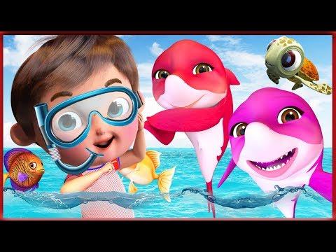 Baby Shark Dance  + More Nursery Rhymes & Kids Songs   Songs For Kids   Banana Cartoon [HD]