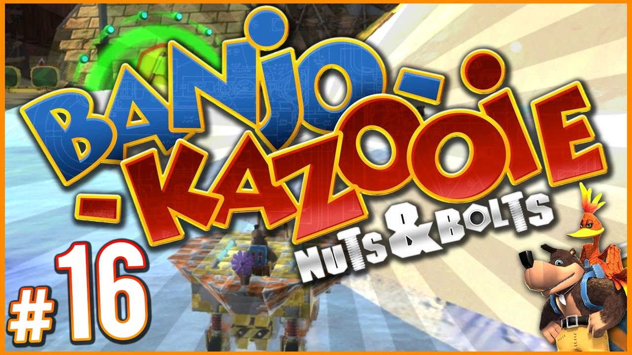 Banjo-Kazooie: Nuts & Bolts - Lots of New Vehicles! | PART 16