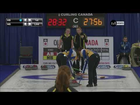 Alberta vs. New Brunswick - 2018 U18 National Championship