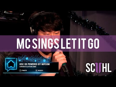 MC Singing 'Let It Go' - HomeStory Cup XII