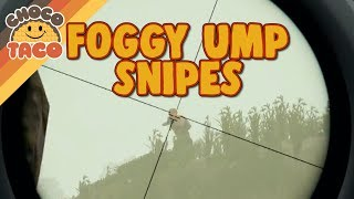 Some Casual UMP Sniping in the Fog - PUBG Gameplay