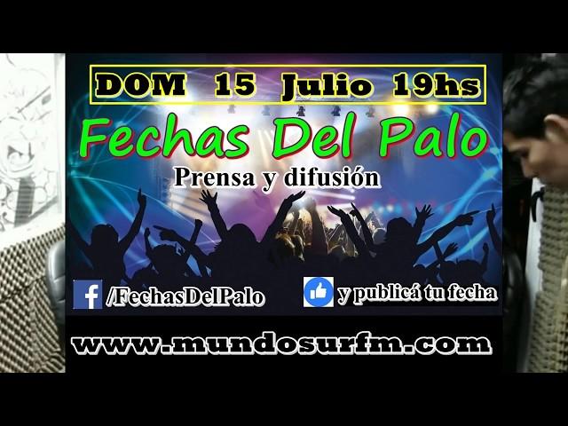 #FechasDelPalo Entrevista y acústico INSEPARABLES ROCK (15-07-18)
