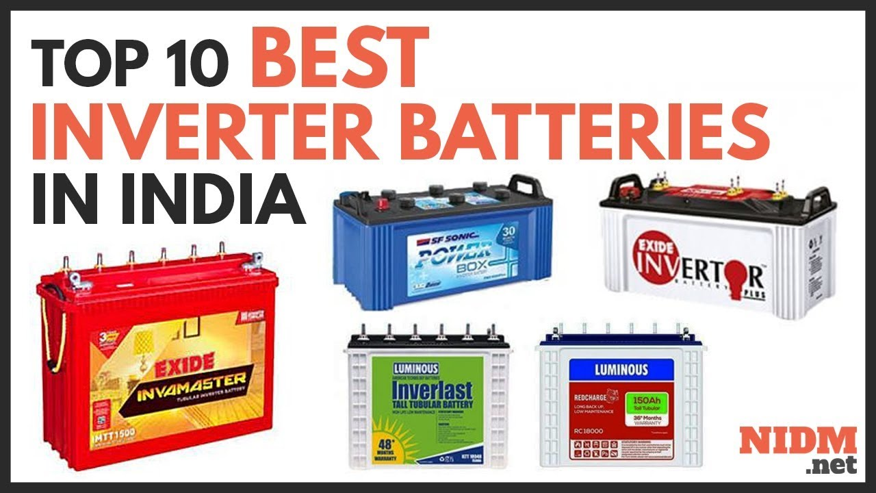 Best Inverter Batteries in India 2019 – Buyer's Guide & Reviews