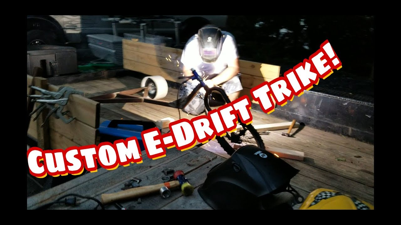 Electric Drift Trike Build! by The Rolling Times