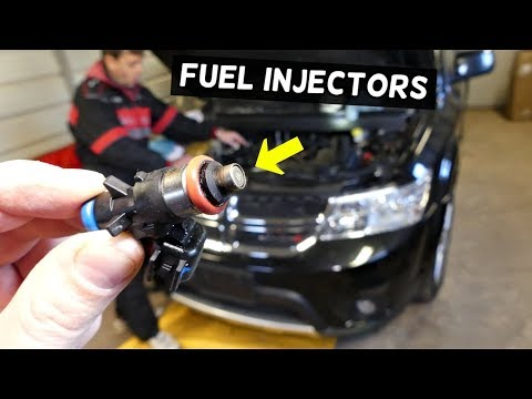 DODGE JOURNEY FUEL INJECTORS REPLACEMENT 3.6 V6 FIAT FREEMONT PENTASTAR