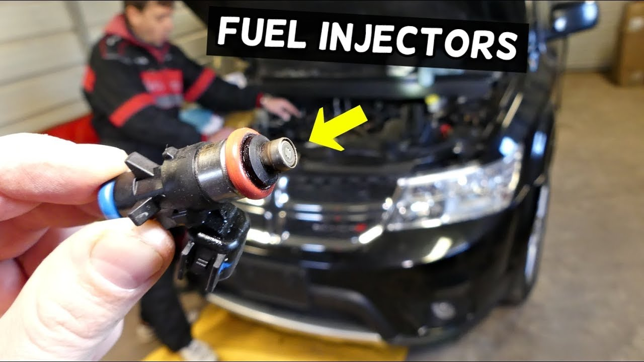 2015 dodge charger fuel injector replacement