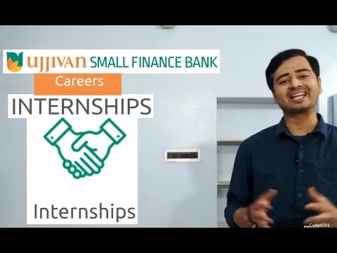 Internship Opportunity With Small Finance Bank आवेदन करो