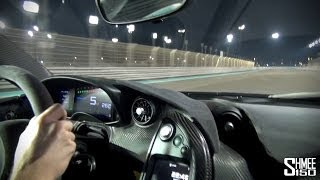 McLaren P1 Incredible HOT LAP Onboard