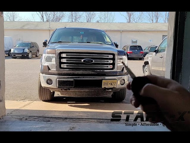 Start-X Remote Start Install Select Fords
