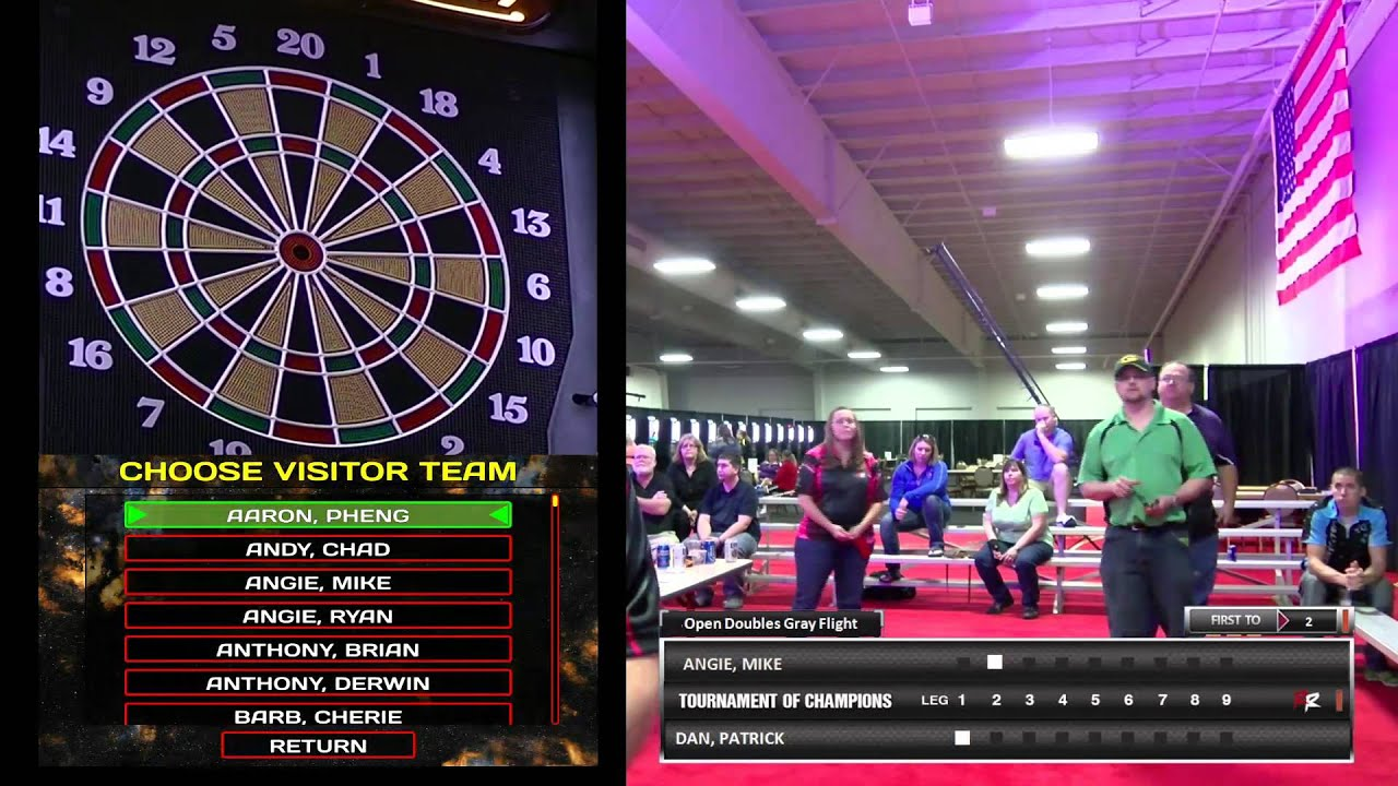 darts live stream youtube