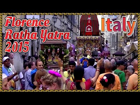 FLORENCE RATHA YATRA 2015 (ITALY)