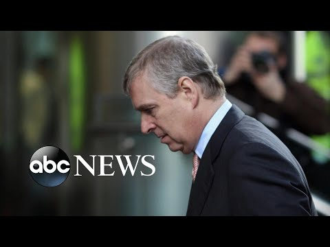 Prince Andrew steps back from public duties l ABC News