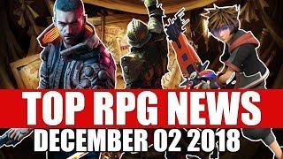 Top RPG News of the Week - Dec 2 2018 (Cyberpunk 2077, Dragon Age, Kingdom Hearts 3)