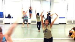 Brinda Guha Indian Contemporary Class at Broadway Dance Center, Music by Subramaniam