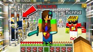 TEACHER Trapped RICH KIDS Inside the RICH DAYCARE.. So I Helped Them ESCAPE.. (Minecraft)