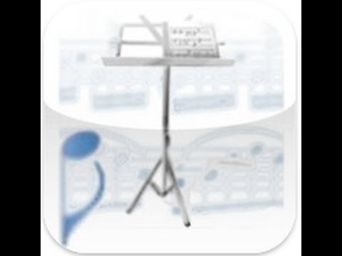 SheetRack - Original Sheet Music Score Reader iPad App Review - CrazyMikesapps