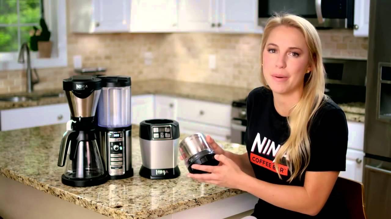 Ninja Coffee Grinder ~ Ninja coffee and spice grinder attachment youtube