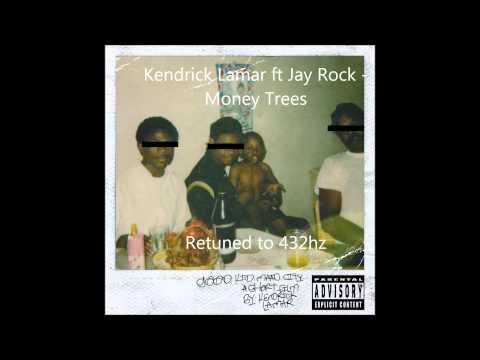 Kendrick Lamar ft Jay Rock - Money Trees 432 hz