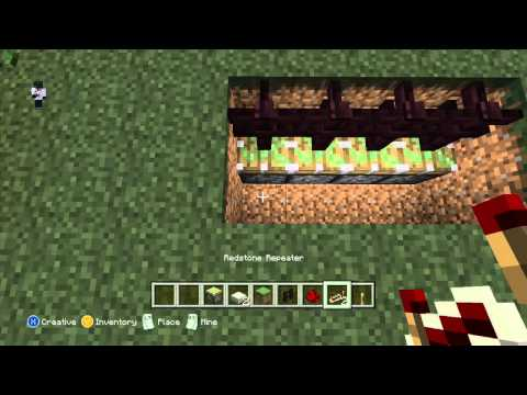 Simple Automatic Minecraft Fence Tutorial