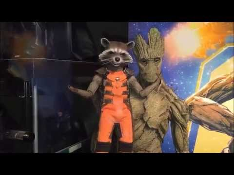 Hot Toys Rocket & Groot Guardians Of The Galaxy