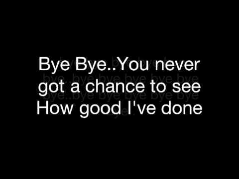 Mariah Carey / Bye Bye _melody with lyrics