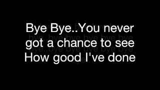 Mariah Carey / Bye Bye _melody with lyrics