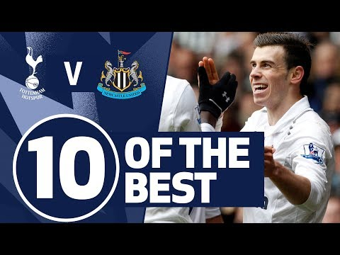 10 OF THE BEST | SPURS BEST STRIKES AGAINST NEWCASTLE | Ft. Kane, Defoe, Bale & Lennon