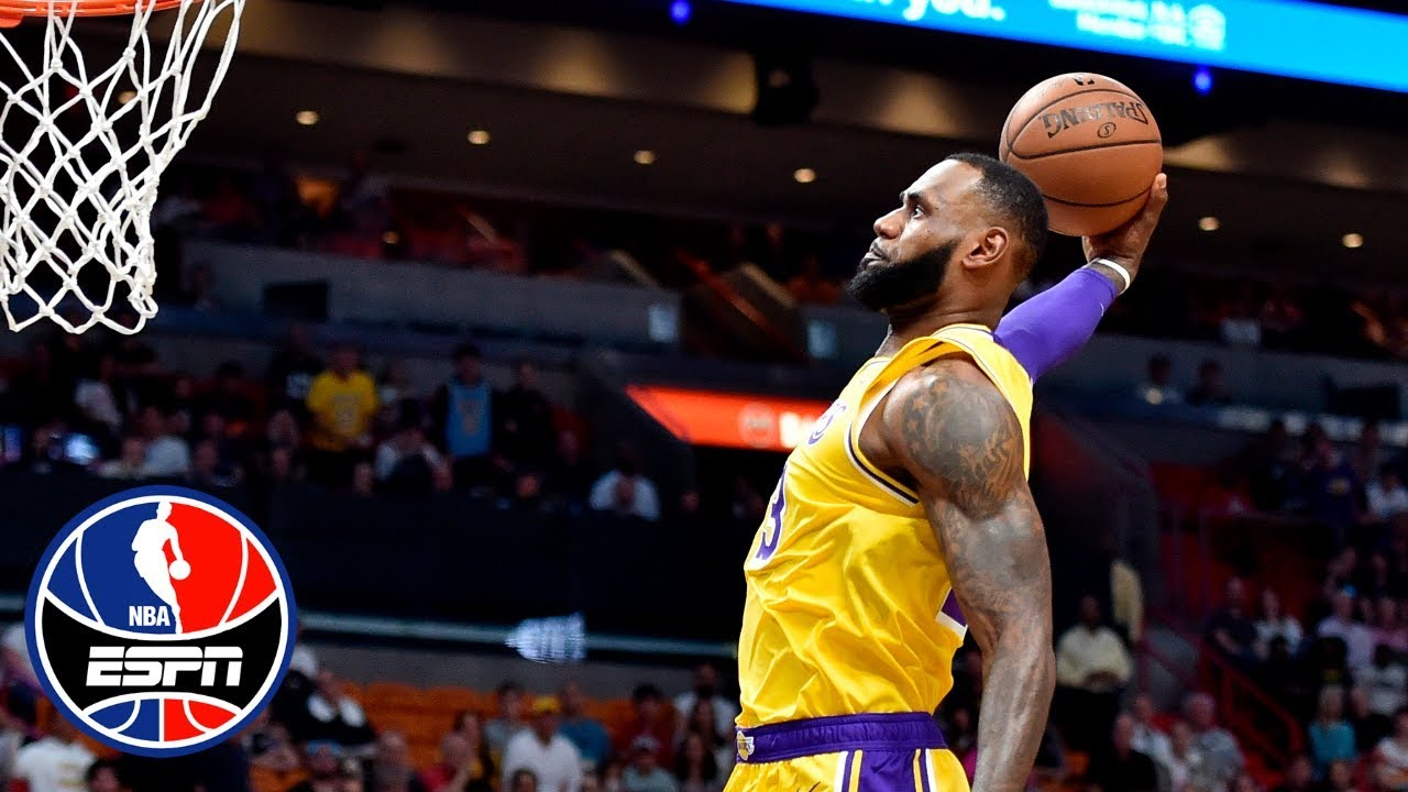 d9e0d658422 LeBron James scores 51 points in Lakers  win vs. Heat
