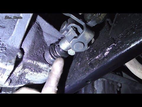 Замена сальника и пыльника штока переключения передач Daewoo Sens
