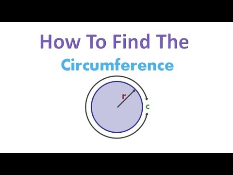 How To Find The Circumference Of A Circle