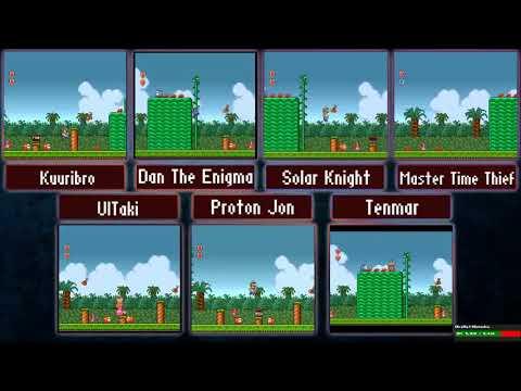 ProtonJon - 7-Player Super Mario Bros. 2 Race & More