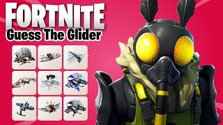 GUESS THE GLIDER in FORTNITE Challenge | Ultimate Fortnite Quiz