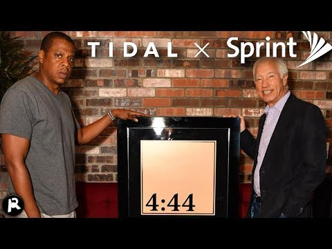 Is Jay-Z Cheating by Going Platinum with 4:44? (Tidal X Sprint)