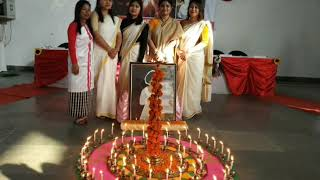 Oath taking and lamp lighting ceremony of NEMCARE GROUP OF INSTITUTIONS