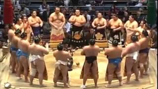 Мартовский турнир по Сумо 2014, 4-6 дни Хару Басё Осака  Haru Basho Osaka