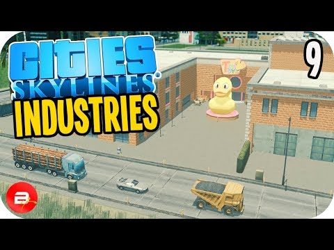 Cities: Skylines Industries - Toys for the Kids! #9 (Industries DLC)
