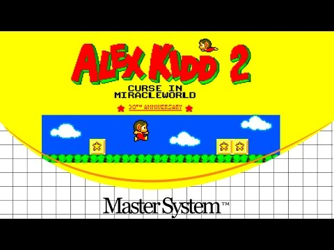 Alex Kidd 2: Curse in MiracleWorld [Master System] [Hack]