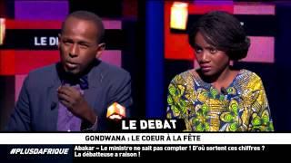 Gondwana : le coeur à la fête, le débat décalé sur le plateau de +d'AFRIQUE streaming