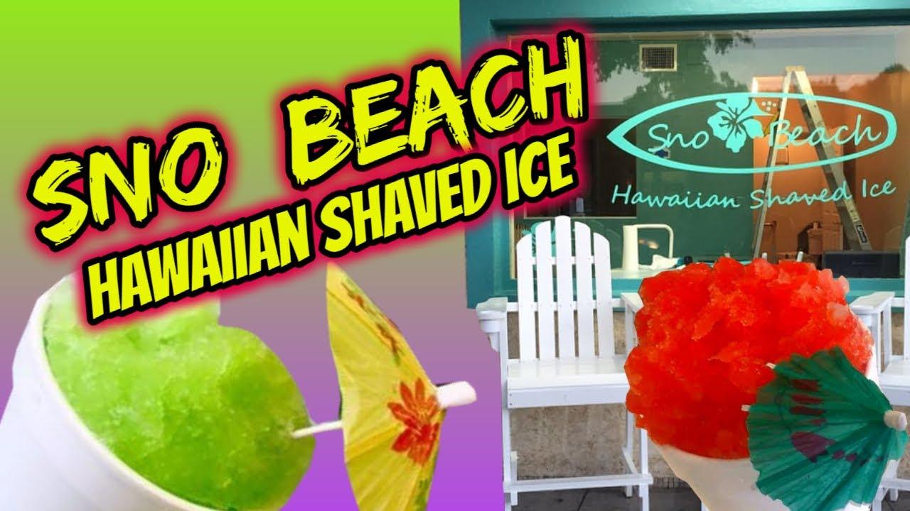 Sno beach hawaiian shaved ice-8673