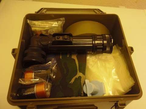 This Is My Review Of The Gold Nugget Army Surplus Survival Kit